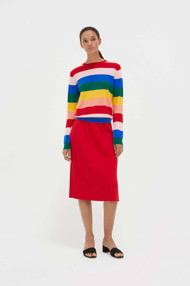 Rainbow Cashmere Day Dreamer Sweater image 4