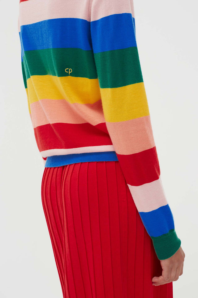 Rainbow Cashmere Day Dreamer Sweater image 5