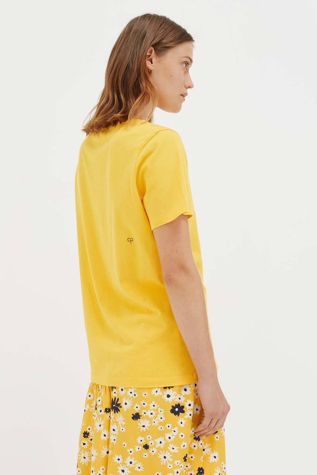 Yellow Cotton Dreamer T-Shirt image 5