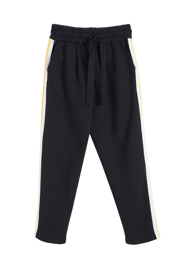 Black Cotton Dreamer Track Pants image 2