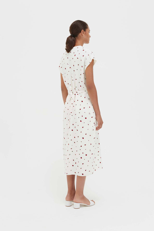 Ivory Silk Strawberry Fields Dress image 6