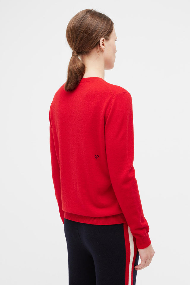 Red Fun Cashmere Sweater image 5