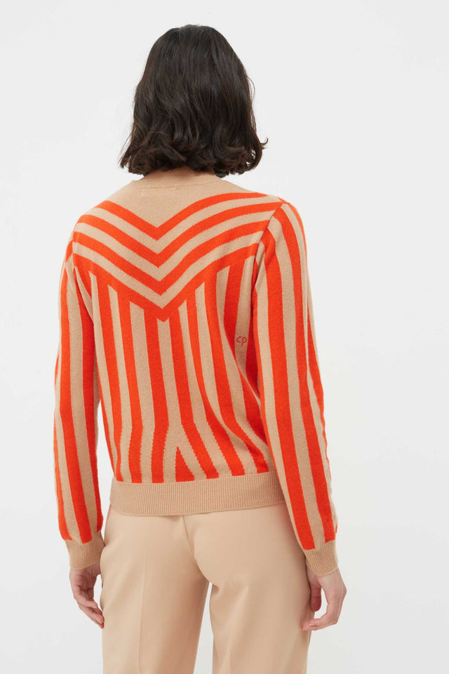 Biscotti Striped Cashmere Sweater image 3