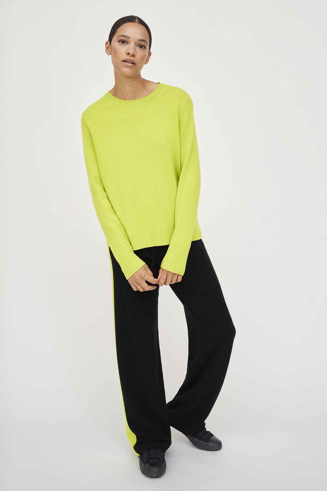Lime Cashmere Boxy Sweater image 1