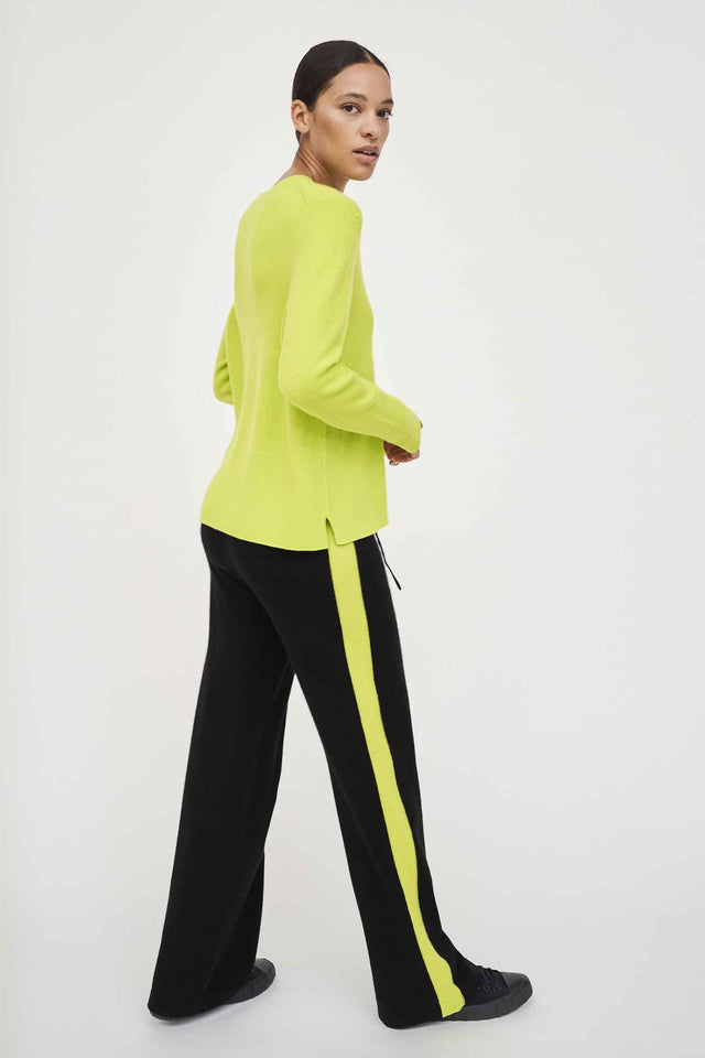 Lime Cashmere Boxy Sweater image 3