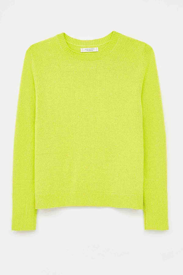 Lime Cashmere Boxy Sweater image 2