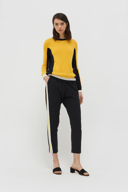 Yellow Cashmere Penelope Sweater