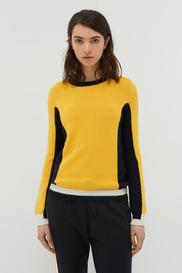 Yellow Cashmere Penelope Sweater image 3