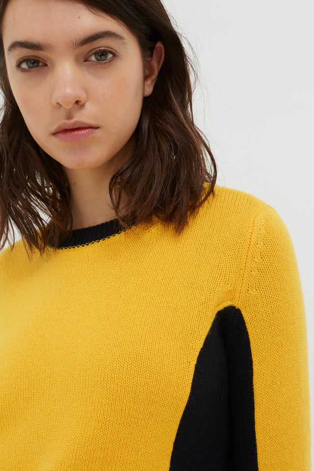 Yellow Cashmere Penelope Sweater image 4