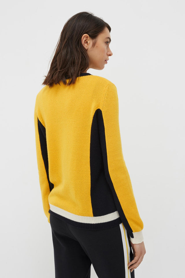 Yellow Cashmere Penelope Sweater image 5