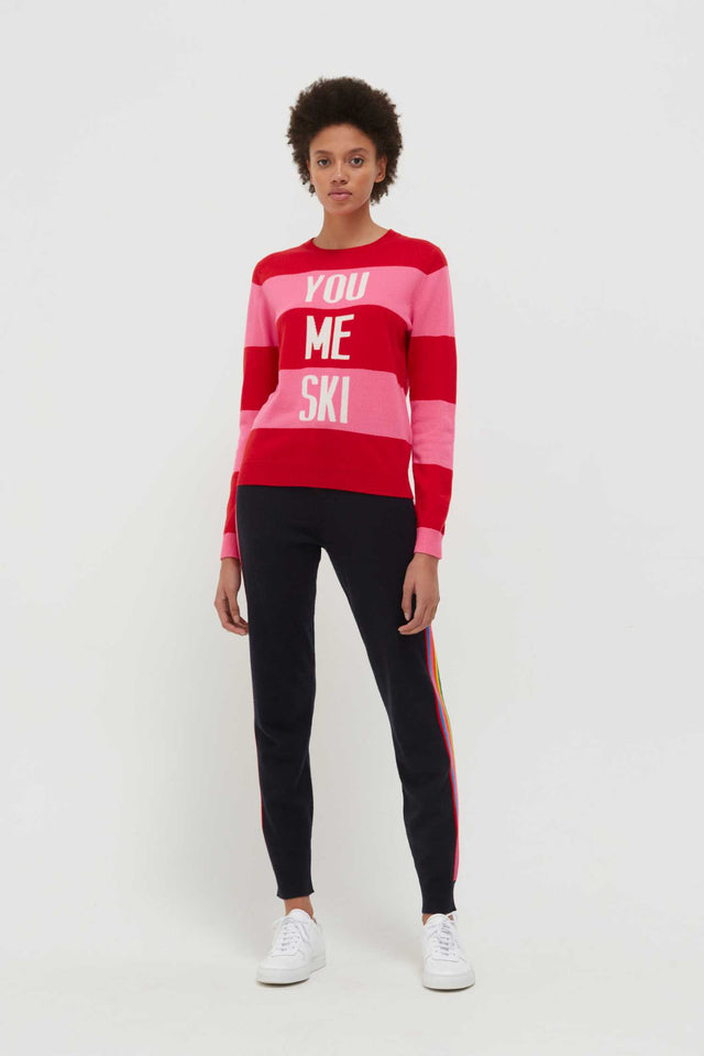 Red You Me Ski Wool-Cashmere Sweater image 4