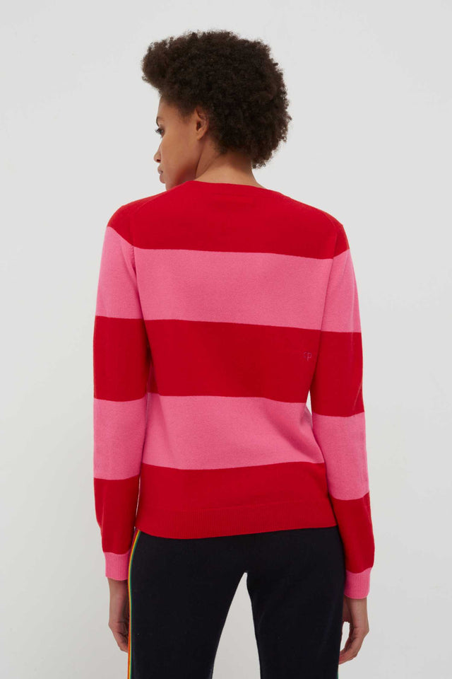 Red You Me Ski Wool-Cashmere Sweater image 5
