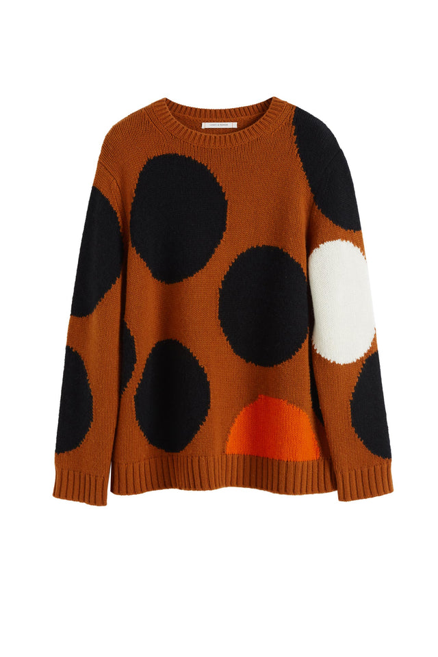 Ginger Dot Wool-Cashmere Sweater image 2