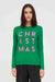 Green Christmas Wool-Cashmere Sweater