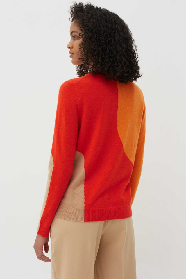 Vermillion Flash Wool-Cashmere Sweater image 3