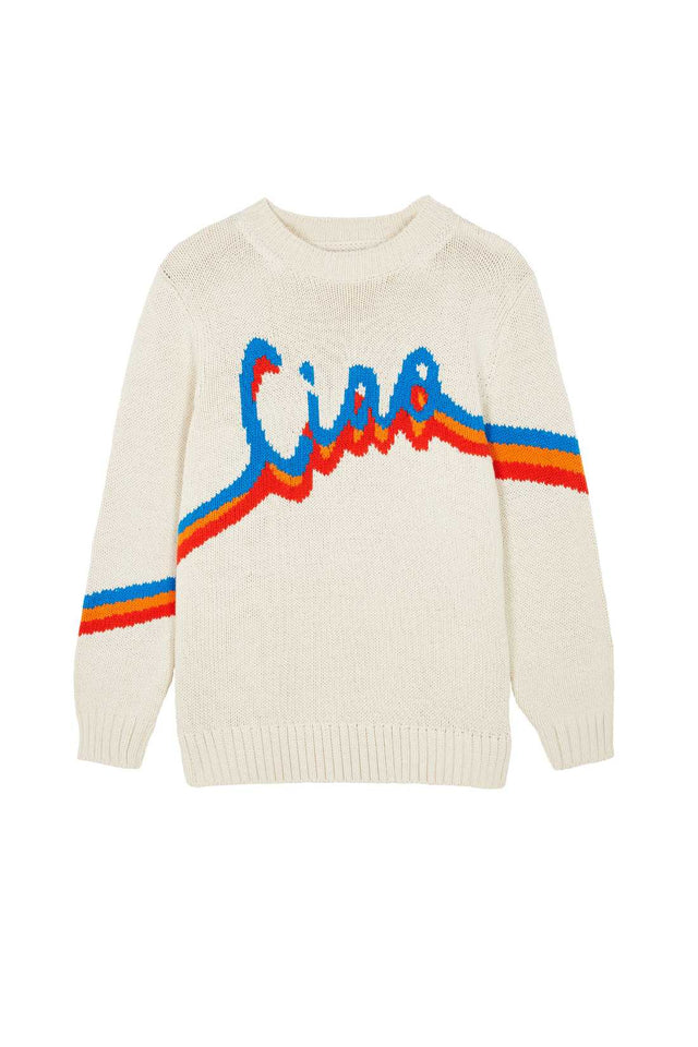 Cream Ciao Cotton Sweater image 2