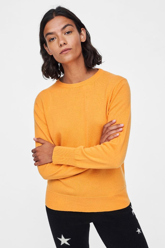Yellow Repurposed Cashmere Sweater image 1