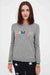 Grey Team Ski Wool-Cashmere Sweater