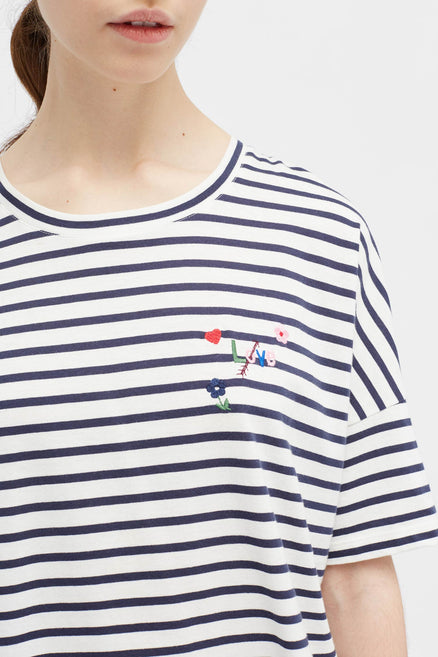 Navy Love Arrow T-Shirt