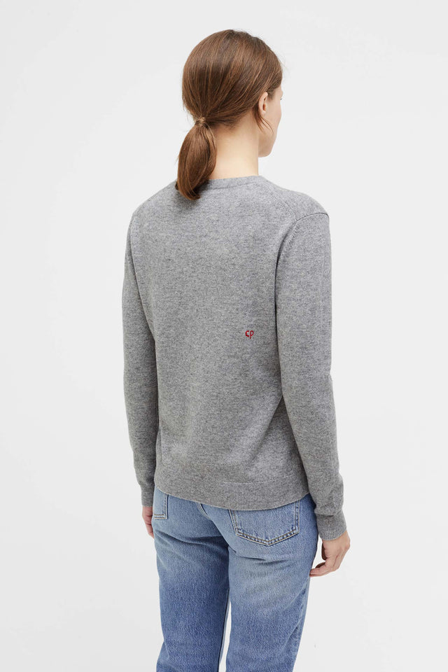 Grey Magic Bunny Cashmere Sweater image 5