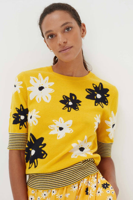 Yellow Wool Meadow Top