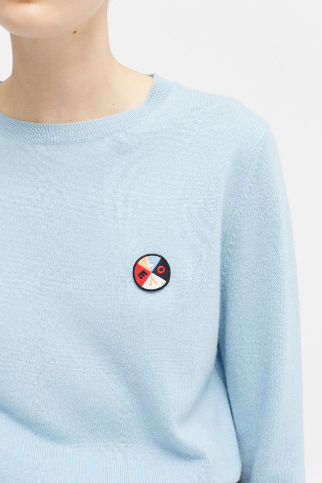 Blue Mexicano Love Badge Sweater image 4