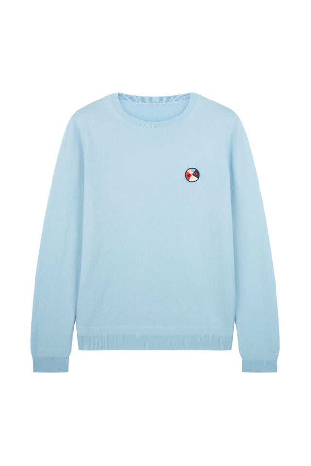 Blue Mexicano Love Badge Sweater image 2