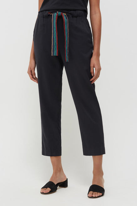 Navy Rainbow Rosella Trousers