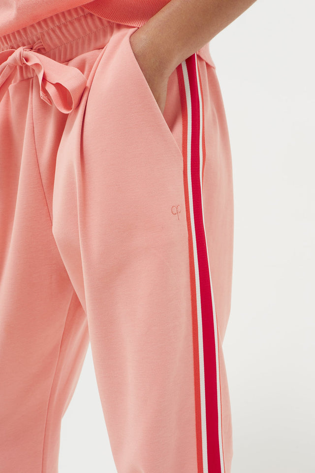 Pink Side Stripe Sweatpants image 5