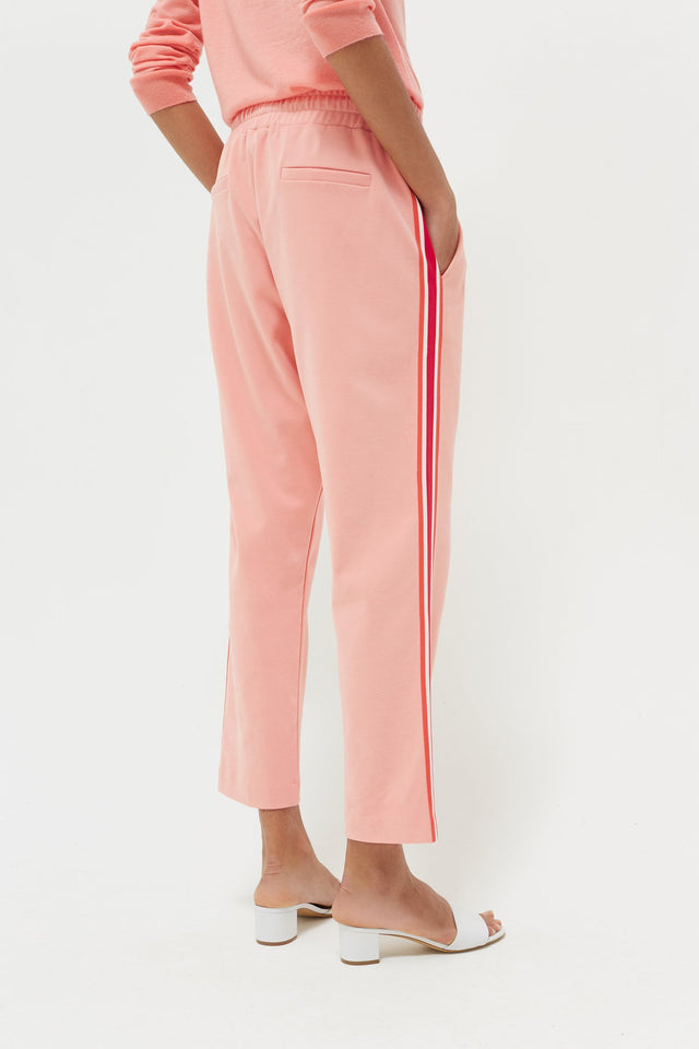 Pink Side Stripe Sweatpants image 3