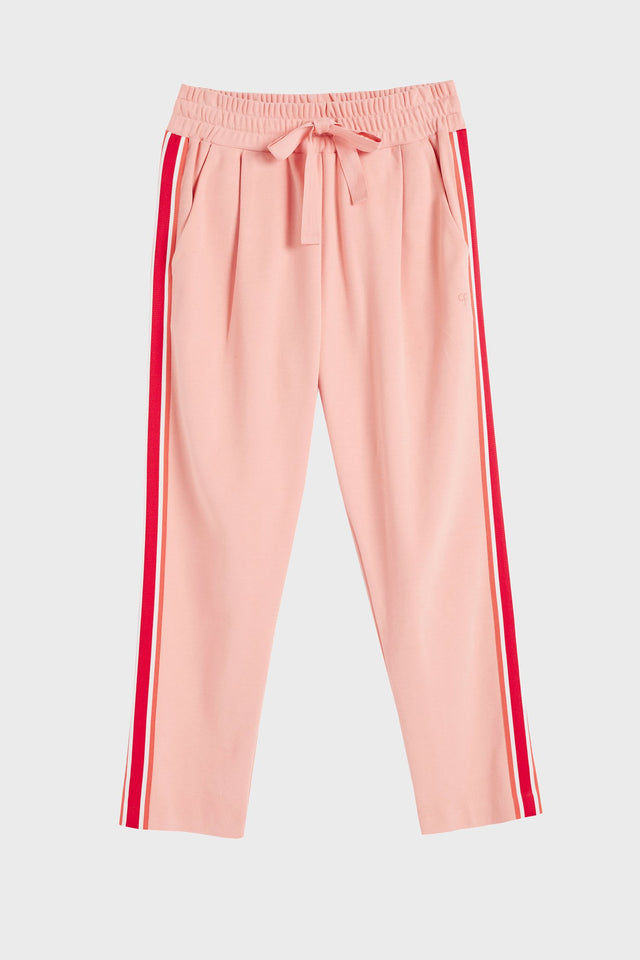 Pink Side Stripe Sweatpants image 2
