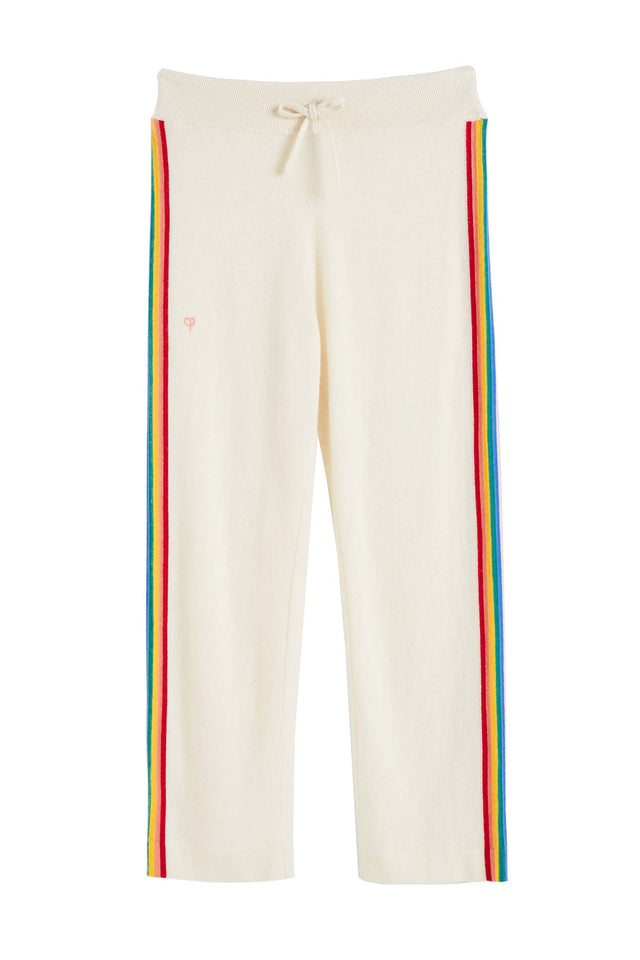 Cream Cashmere Rainbow Track Pants image 2