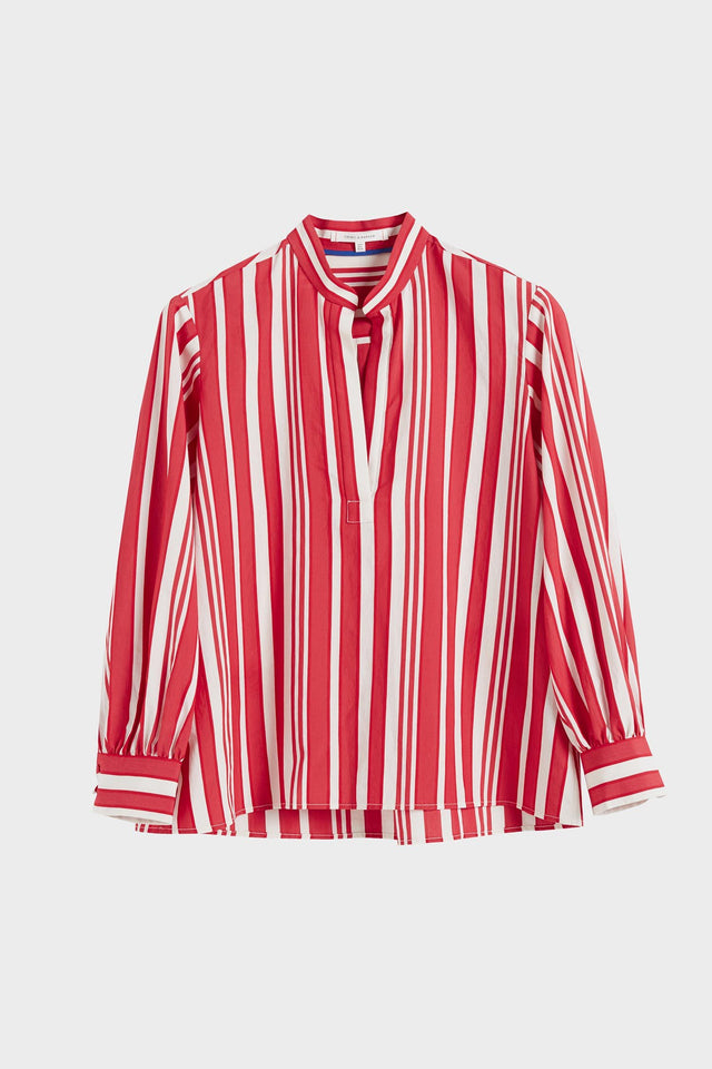Red Striped Parasol Blouse image 2