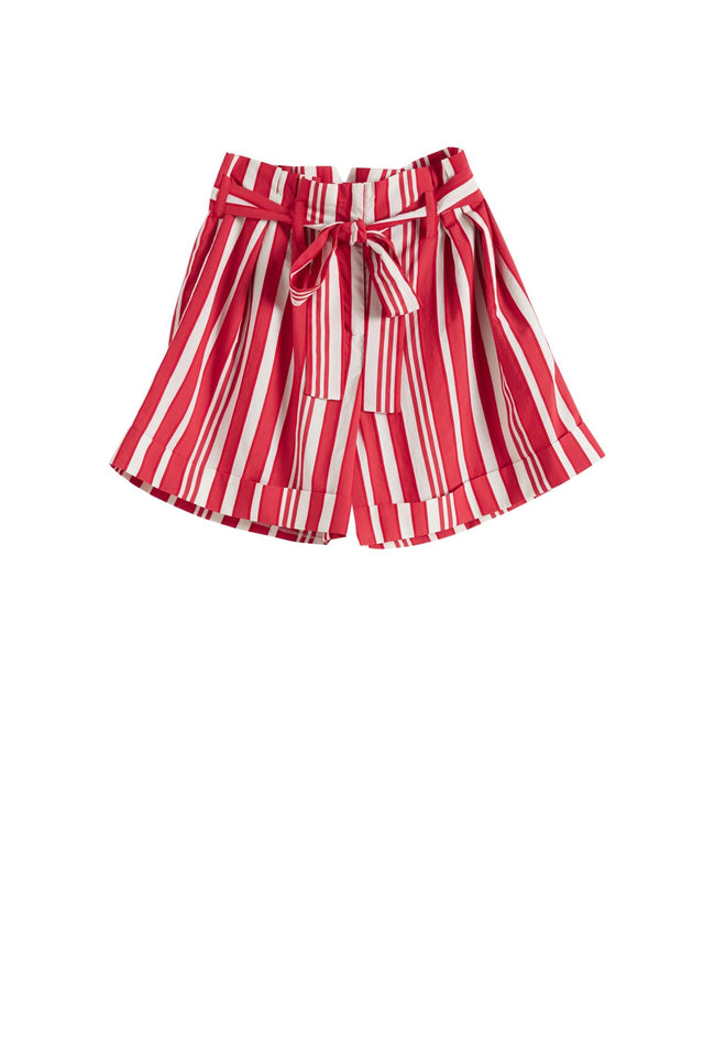 Red Striped Parasol Shorts image 2