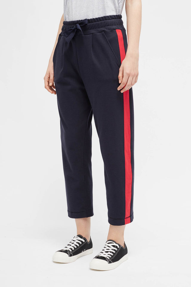 Navy Side Panel Track Pants image 3