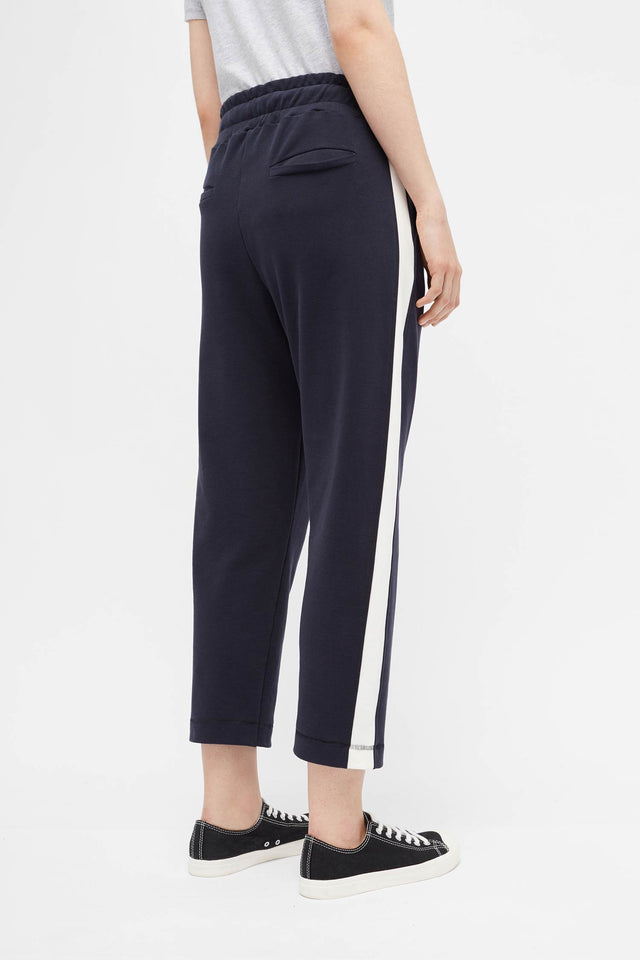 Navy Side Panel Track Pants image 4