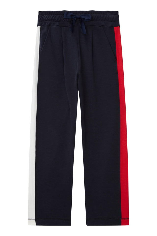 Navy Side Panel Track Pants image 2
