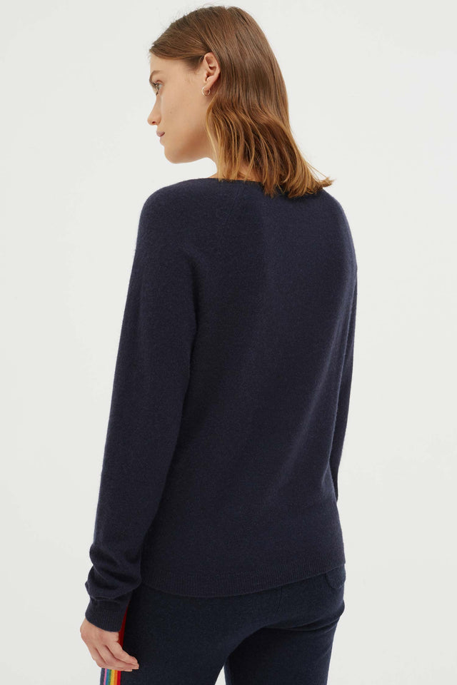 Navy Ski High Sweater image 5