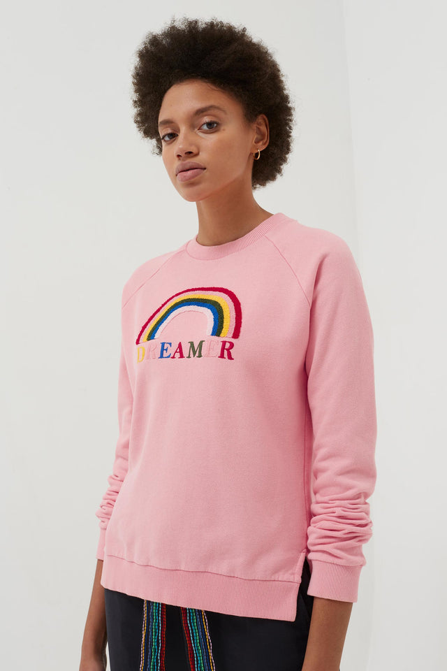 Pink Cotton Dreamer Sweatshirt image 3