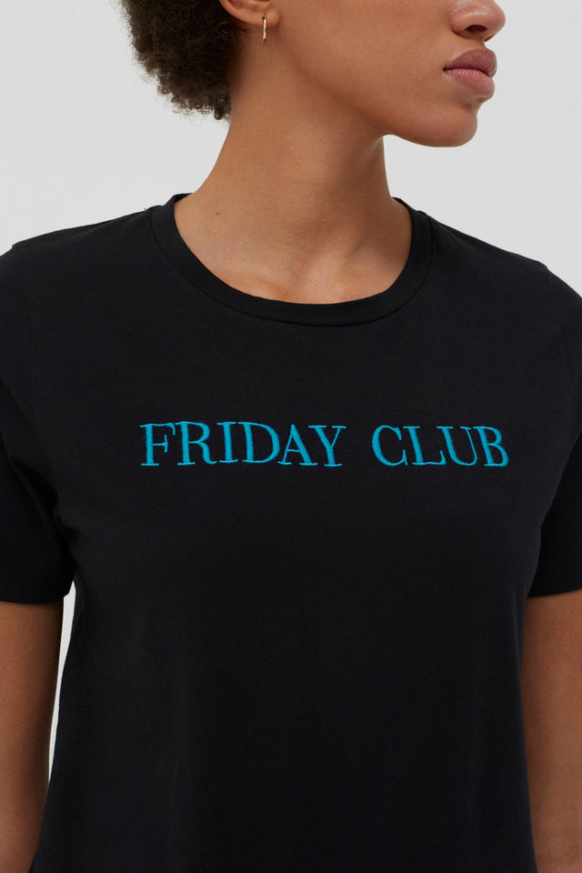 Black Friday Club Cotton T-Shirt image 5