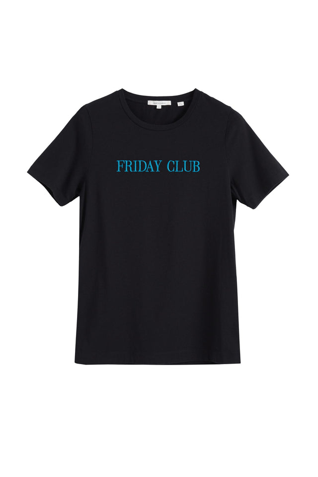 Black Friday Club Cotton T-Shirt image 2
