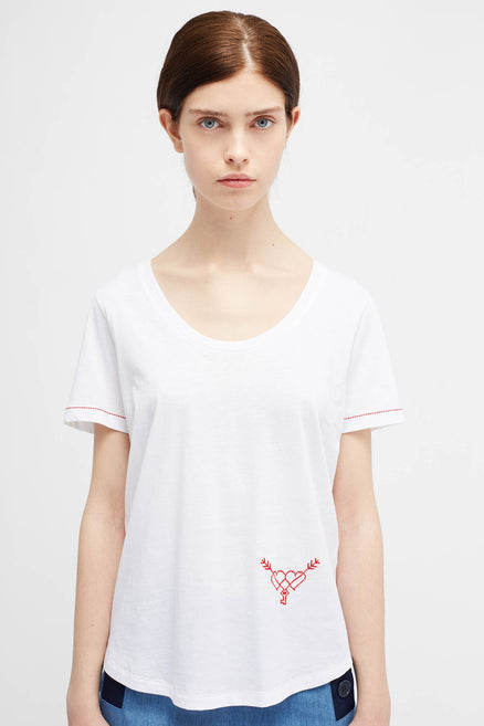 White Twin T-Shirt
