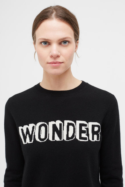 Black Wonder Cashmere Sweater