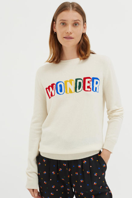 Cream Wonder Cashmere Sweater