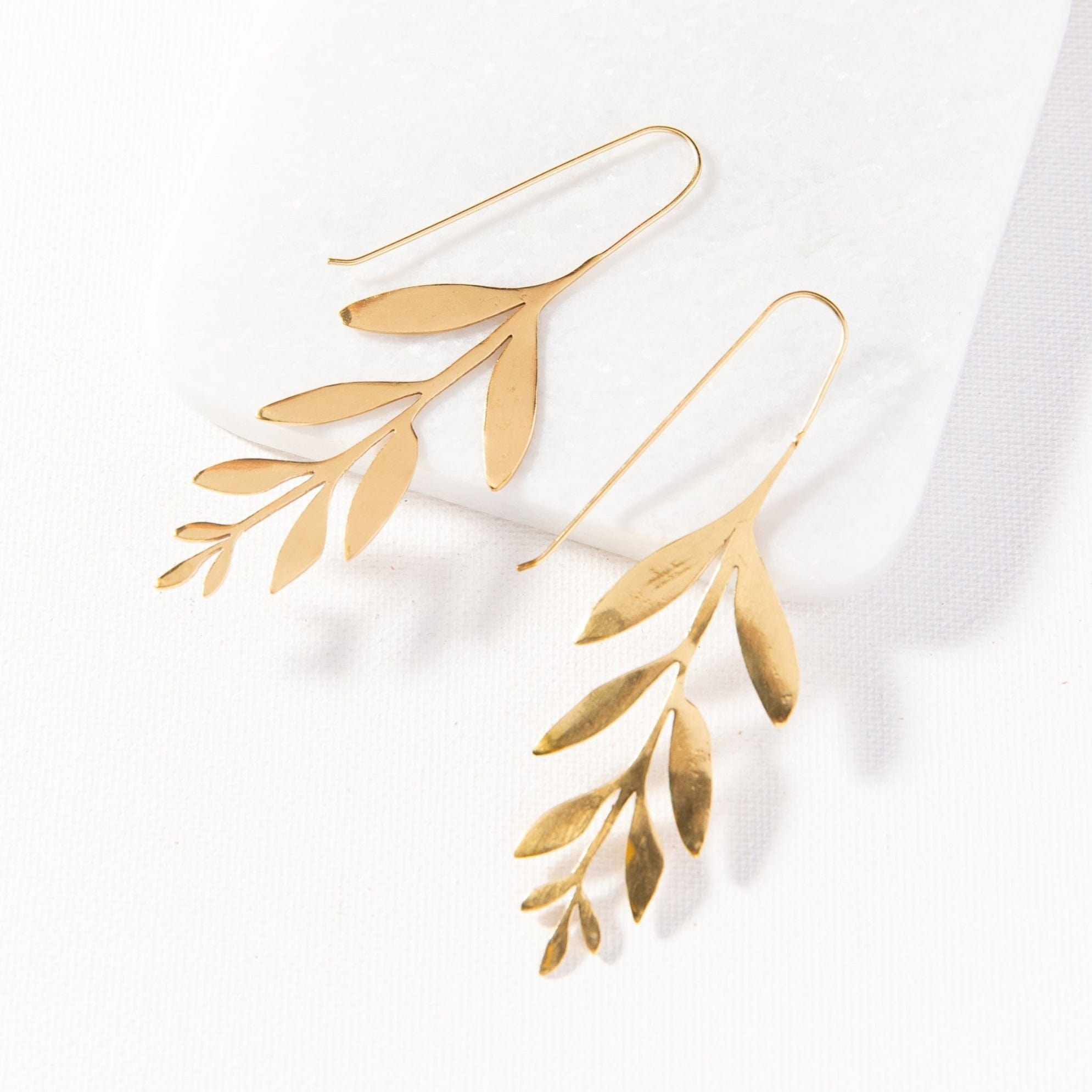 wisteria drop earrings