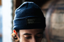 Load image into Gallery viewer, Beanie Toque - Navy Blue (Unisex)