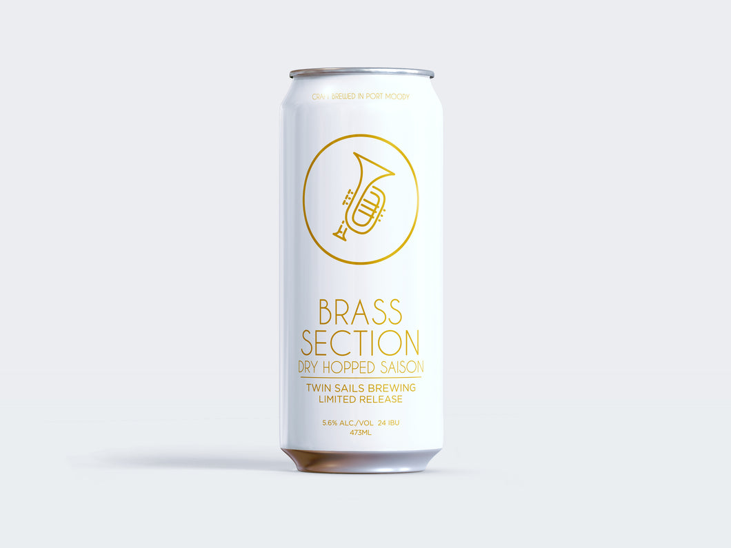 Brass Section - CURRENTLY SUSPENDED ONLINE STORE TO FOCUS ON TASTING ROOM OPENING