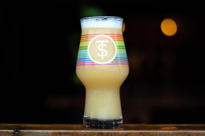 Rainbow IPA Glass