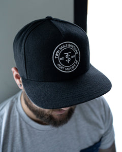 Twin Sails Hat with Circle Icon