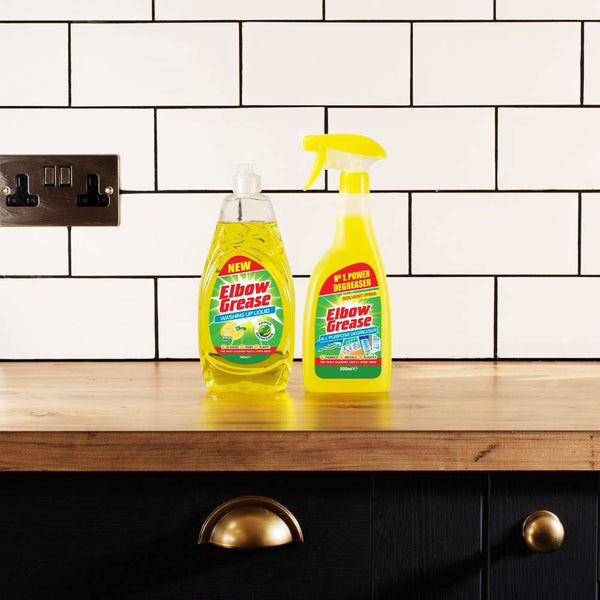 We join in the latest cleaning craze!